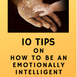10 tips on how to be an Emotionally Intelligent Parent – ebook